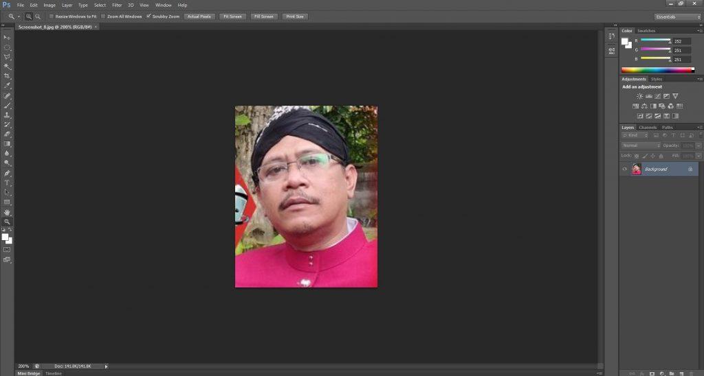cara memperbesar ukuran foto