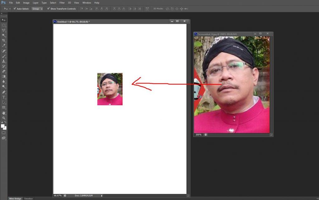 cara memperbesar ukuran foto tanpa pecah