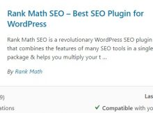 Rank Math plugin SEO Terbaik Wordpress