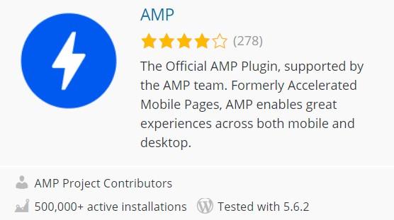plugin AMP WordPress terbaik
