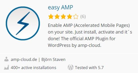 Plugin AMP terbaik WordPress