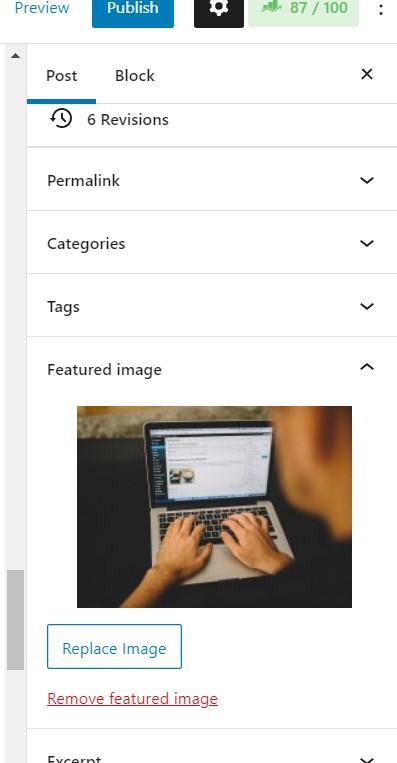 menambahkan featured image wordpress