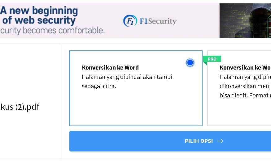 konversi pdf ke word online