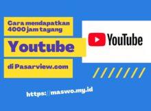 400 jam tayang Youtube
